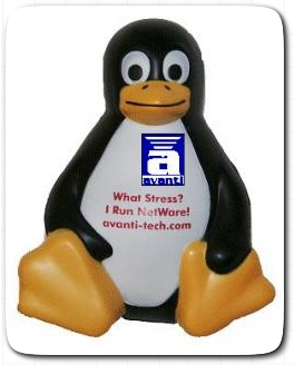 avanti's Penguin with logo